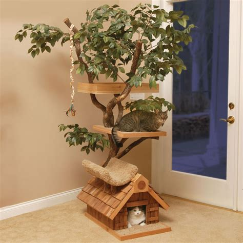 Attractive Christmas Tree Bags Storage #6: Natural-cat-treehouse-xl.jpg