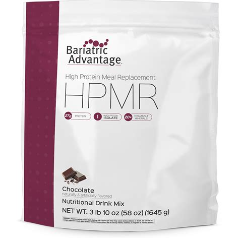 protein replacement high protein meal replacement bariatric advantage inc