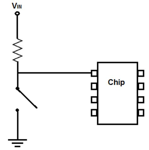 what is the use of pull up resistor in microcontroller how to connect a pull up resistor