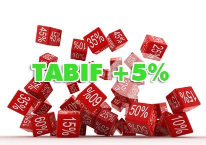 tarifs 2012 de la taxe annuelle sur les bureaux cartons