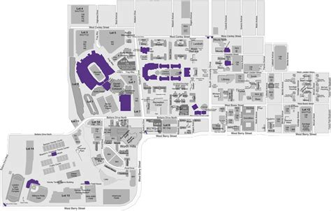 texas christian university map tcu the caign for tcu