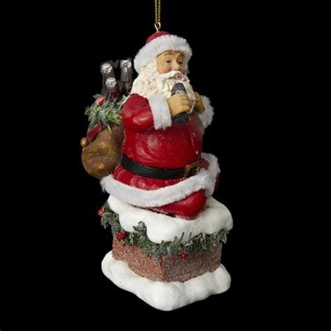 Coming Out Of Fireplace by 4 5 Santa Claus Coming Out Of Chimney Decorative Ornament Christmascentral