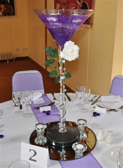 Martini Glass Decoration by Table Centerpieces Beat N Bop Discos Mobile Discos
