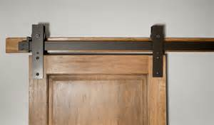 Barn Door Tracks Made Interior Barn Door Hardware Flat Track Installation By Basin Custom Custommade