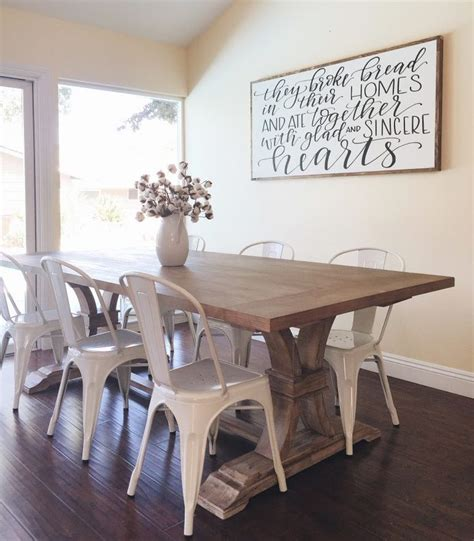 dining room farm tables best 25 farmhouse table chairs ideas on pinterest