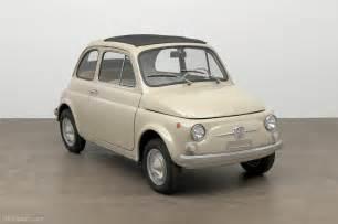 Fiat 500 Original Moma Adds Original Condition 1968 Fiat 500 To Collection