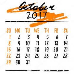 Calendario De Letra Cuadr 237 Cula Calendario Con Letras Para 2017 Octubre