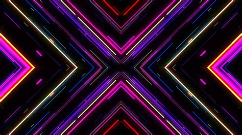 vj imagehd motion graphic background vj neon lights tunnel footage