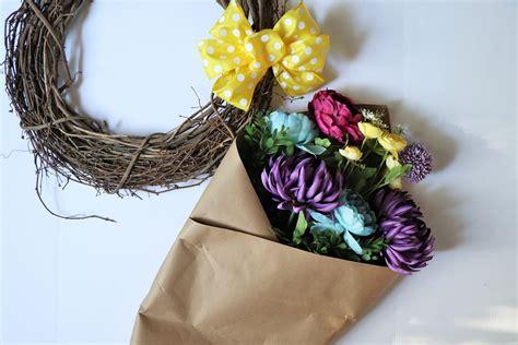 summer wreath kit front door wreath  diy summer