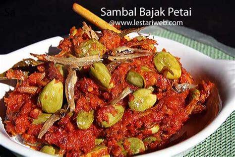 Sambel Jambal Asli Surabaya kumpulan resep asli indonesia sambal bajak