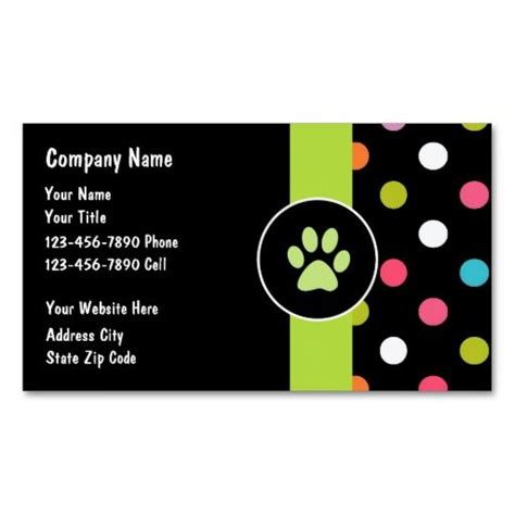 animal business card templates free 262 best animal pet care business cards images on