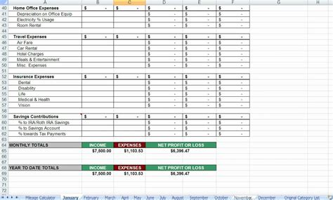 tax deduction spreadsheet template itemized deduction worksheet abitlikethis