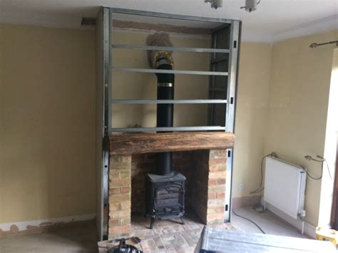 Fireplace Breast by Cambridge Stove Installations Ltd 100 Feedback Chimney