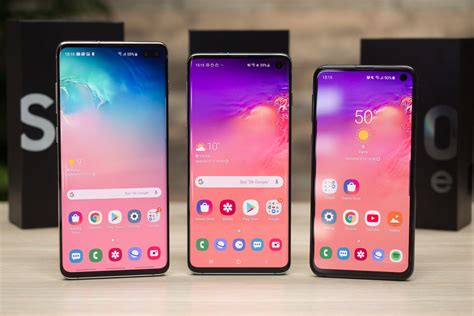 deal grab the dual sim unlocked samsung galaxy s10 s10 and s10e for 20 phonearena