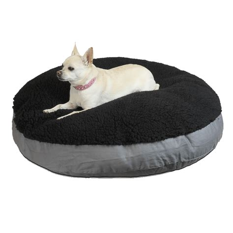 round dog bed cover replacement cover snoozer round pillow dog bed 5 dog beds carriers