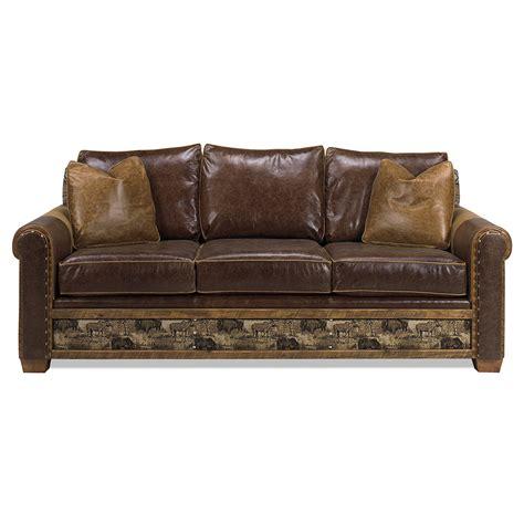 Remington Open Sofa Apache Green Gables