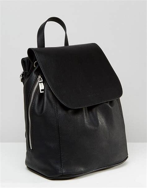 Side Zipper Backpack 0453 image 2 of pull minimal backpack with side zip detail wardrobe minimal
