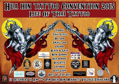 tattoo convention queen mary 2015 where to go what to do in hua hin october 2015 events
