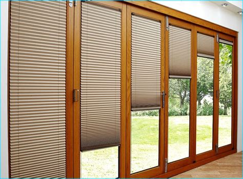 patio doors with blinds sliding patio doors adding to your home garden