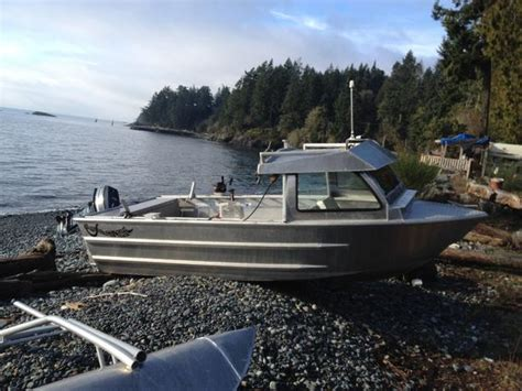 Aluminum Boat With Cuddy Cabin by Craft Aluminum 16 5 Cuddy Cabin Sooke