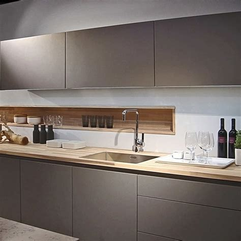 Poggenpohl Develops Chrome Plated Lacquers Woodworking Poggenpohl Kitchen Cabinets