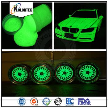 glow in the paint for rubber phosphorescent spray paint powder coating luminous pigment