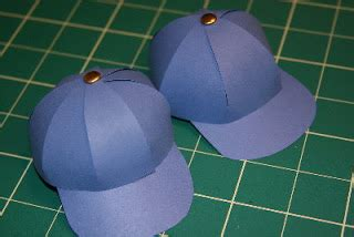 How To Make A Paper Baseball Cap - tutorials paper baseball caps
