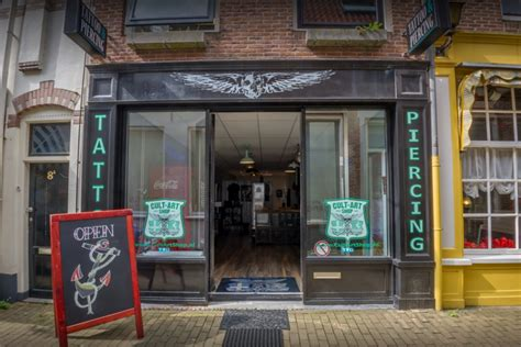 tattoo store zwolle cult shop zwolle indebuurt zwolle
