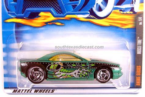 Hw437 Wheels 2001 Anime Series Tone Metalflake Green hobbydb