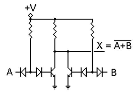 diode transistor logic dtl diode transistor logic