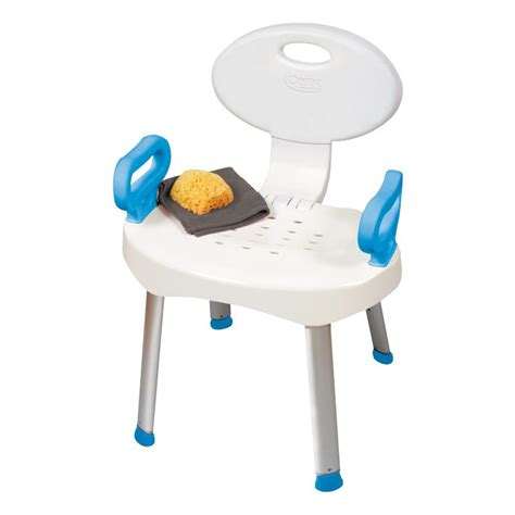 bath and shower chair carex ez bath and shower chair with handles shower chairs