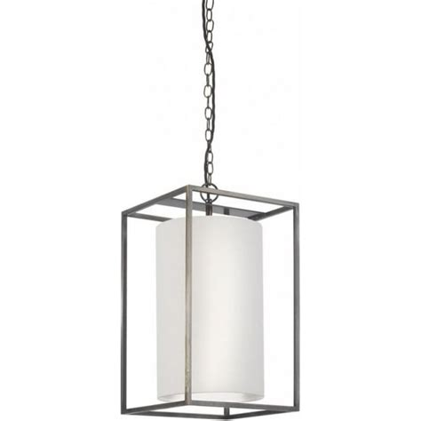 Rectangular Pendant Light Derwent Hanging Ceiling Pendant Light Rectangular Frame Linen Shade
