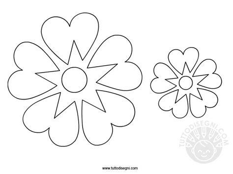 fiore da colorare e stare fiori disegni stilizzati fiori stilizzati da colorare