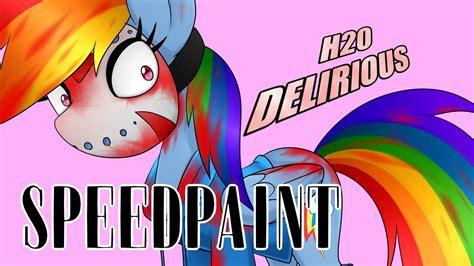 Hso Rainbow delirious rainbow dash mlp speedpaint