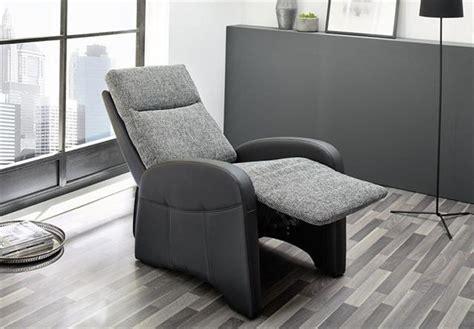 Moderner Fernsehsessel 521 tv sessel marcel fernsehsessel in schwarz und stoff grau