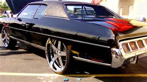 chevy caprice donk on 26 s   youtube