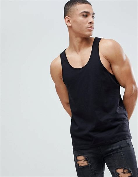 Asos Fit Vest In Black asos asos vest in black