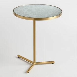 white marble and metal accent table white marble and metal accent table market