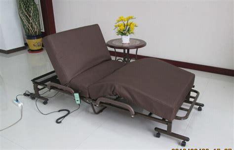 Ranjang Besi Lipat disesuaikan electic lipat tempat tidur ruang tamu tempat tidur hotel bed logam