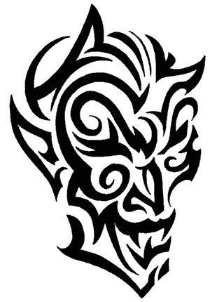 tatto upank tatto tribal mirip wayang