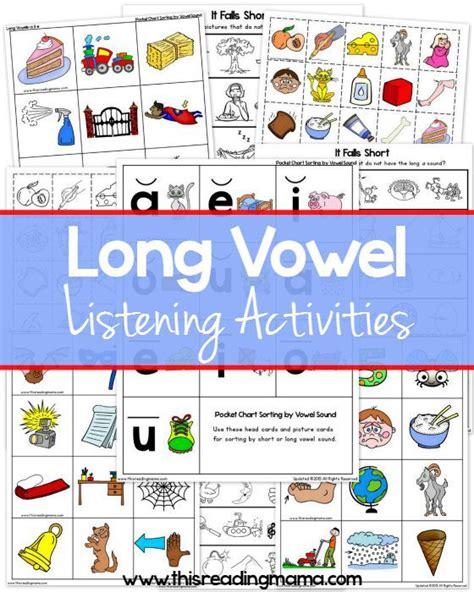 printable vowel games the 25 best listening activities ideas on pinterest