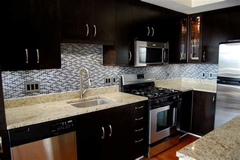 dark kitchen cabinets backsplash ideas hawk haven