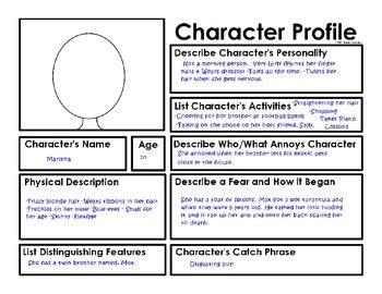 17 best character description unit images on pinterest