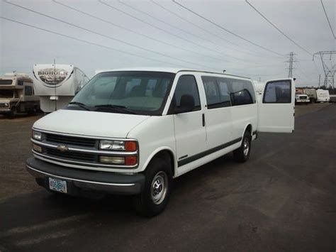 how to sell used cars 2001 chevrolet express 1500 free book repair manuals sell used 2001 chevrolet express 3500 ls standard passenger van 3 door 5 7l in sherwood oregon