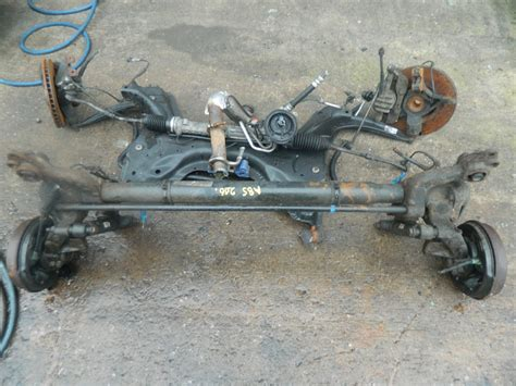 peugeot 206 rear axle with abs