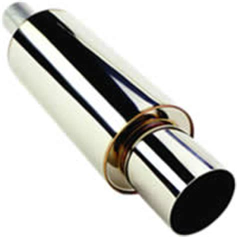 Buntut Knalpot Muffler Hks Universal hks universal stainless hi power muffler