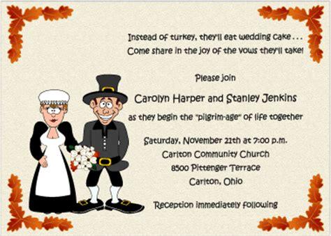 thanksgiving mail for wedding invitation wedding november 2011