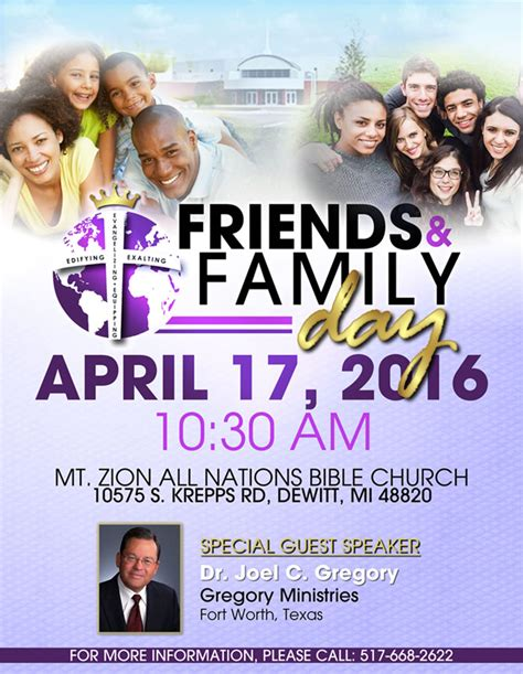 family flyer template family and friends day theme pictures to pin on