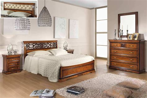 exclusive bedroom furniture set for bedroom in veneer finish with lacquered exclusive thread arve style luxury furniture mr