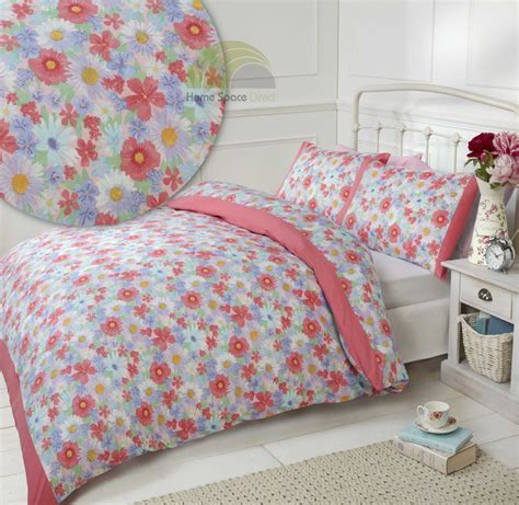 Bed Cover Aja Uksingle 1 floral quilt duvet cover pillowcase bedding bed set single king country ebay